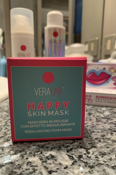 Happy skin mask