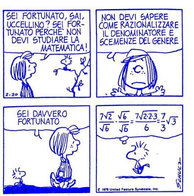 snoopy matematica